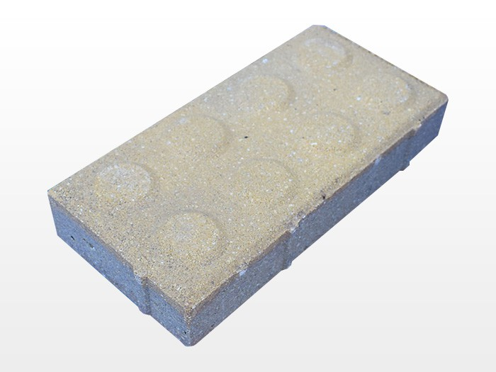 浅黄透水砖