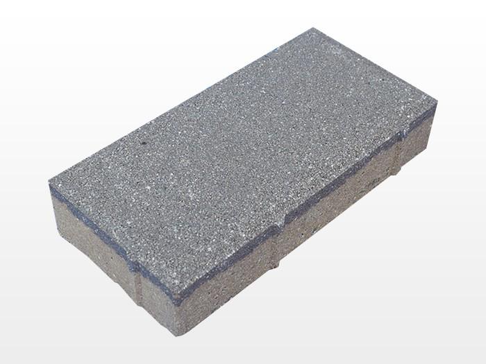 陕西浅灰透水砖