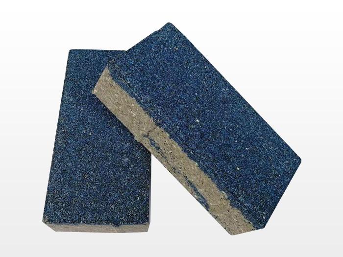 蓝色透水砖