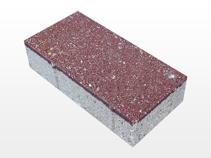 陕西深红透水砖