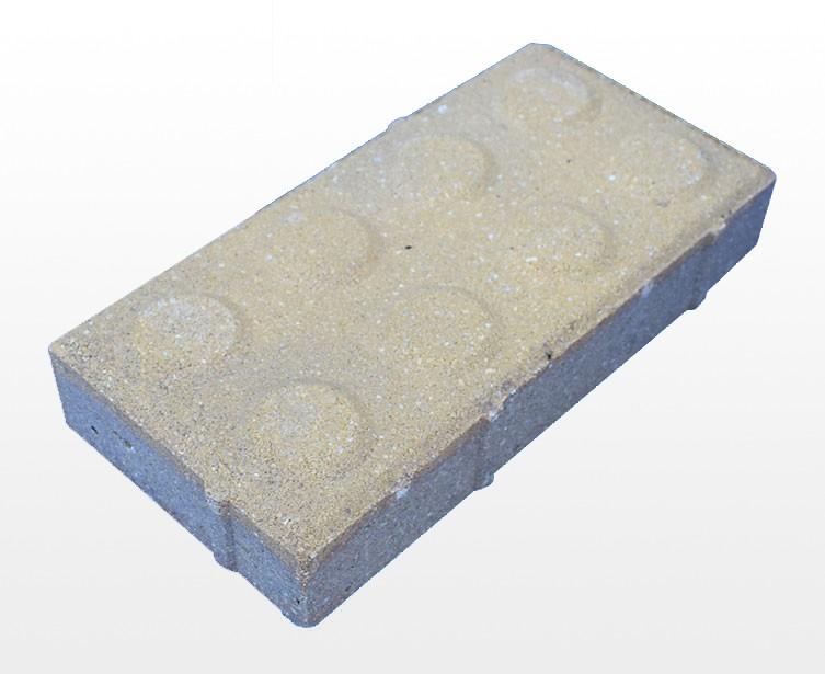止步透水砖
