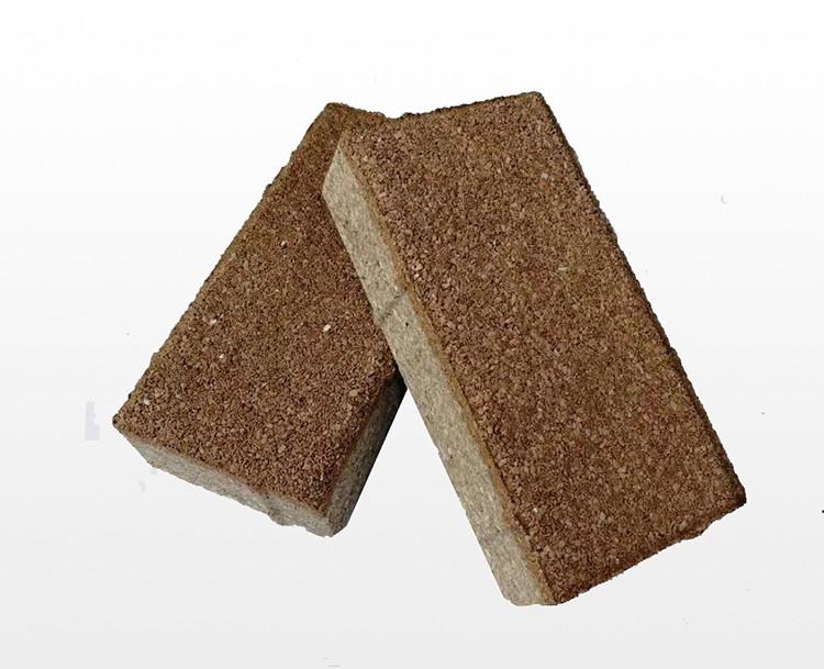 棕色透水砖